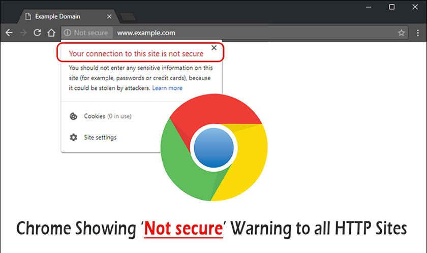 HTTP Sites are not secure