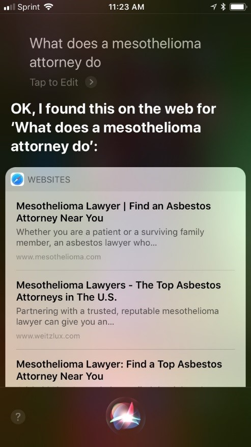 siri-mesothelioma-attorneys-search-results